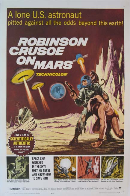 ROBINSON CRUSOE ON MARS @ FilmPosters.com