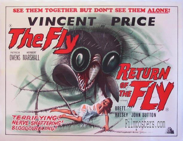 FLY / RETURN OF THE FLY (The Fly / Return of the Fly) @ FilmPosters.com