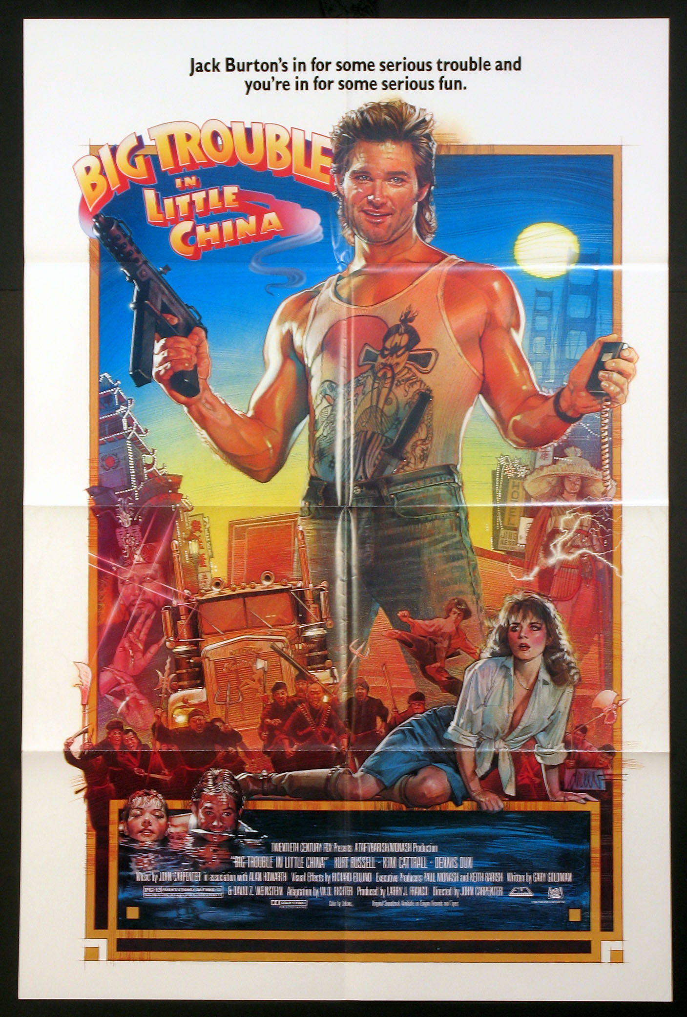 BIG TROUBLE IN LITTLE CHINA @ FilmPosters.com