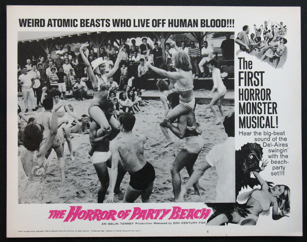 HORROR OF PARTY BEACH @ FilmPosters.com