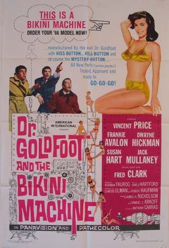 DOCTOR GOLDFOOT AND THE BIKINI MACHINE @ FilmPosters.com