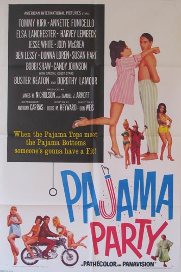 PAJAMA PARTY @ FilmPosters.com