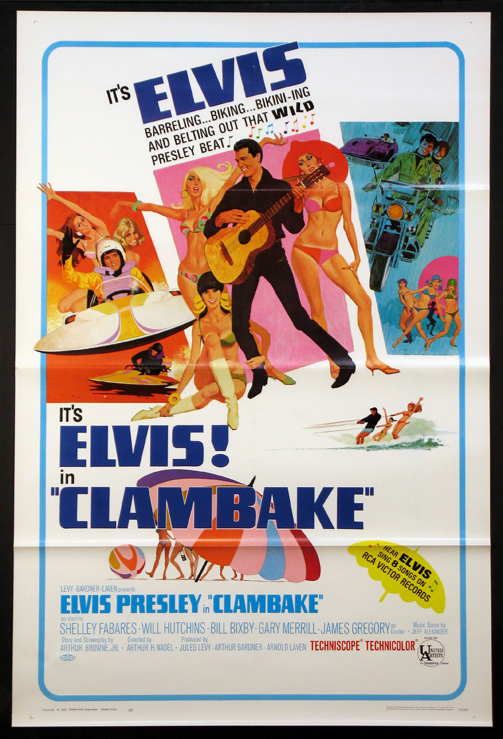 CLAMBAKE @ FilmPosters.com