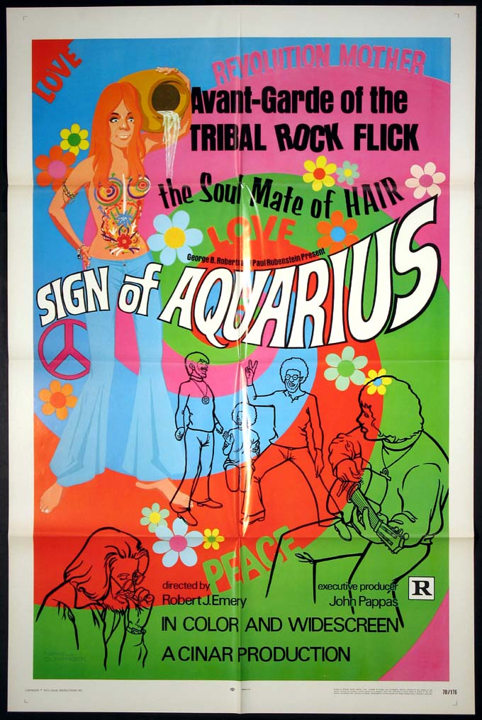 SIGN OF AQUARIUS (Love Commune, Ghetto Freaks) @ FilmPosters.com