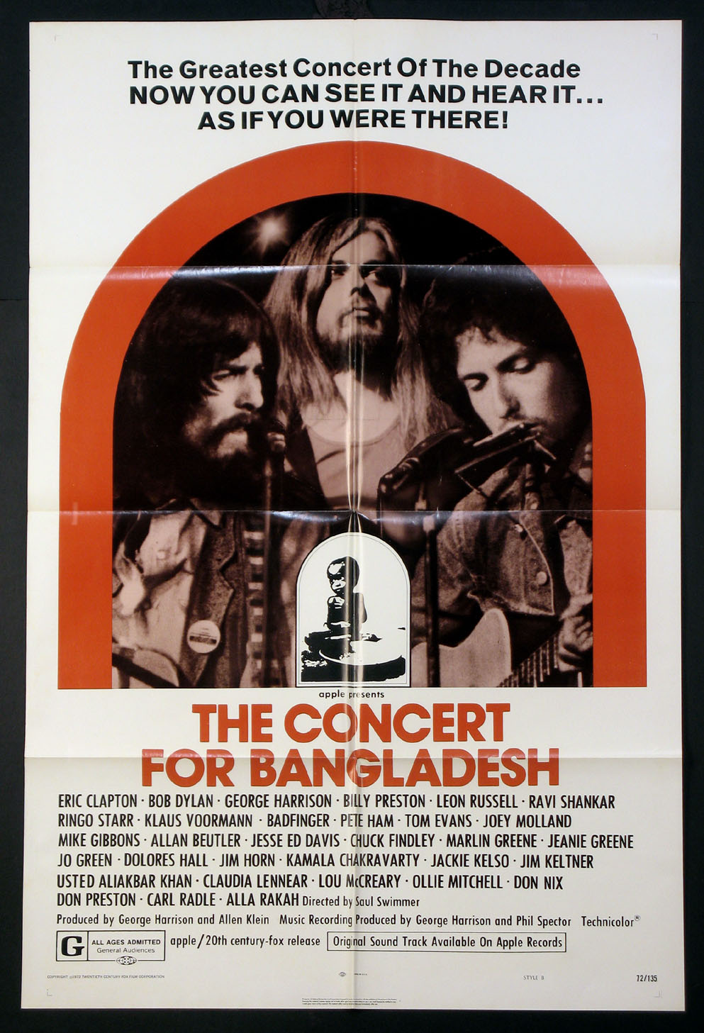 CONCERT FOR BANGLADESH, THE @ FilmPosters.com