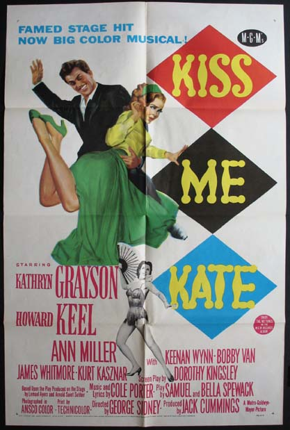 KISS ME KATE @ FilmPosters.com