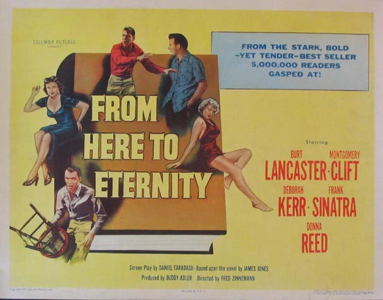 FROM HERE TO ETERNITY @ FilmPosters.com
