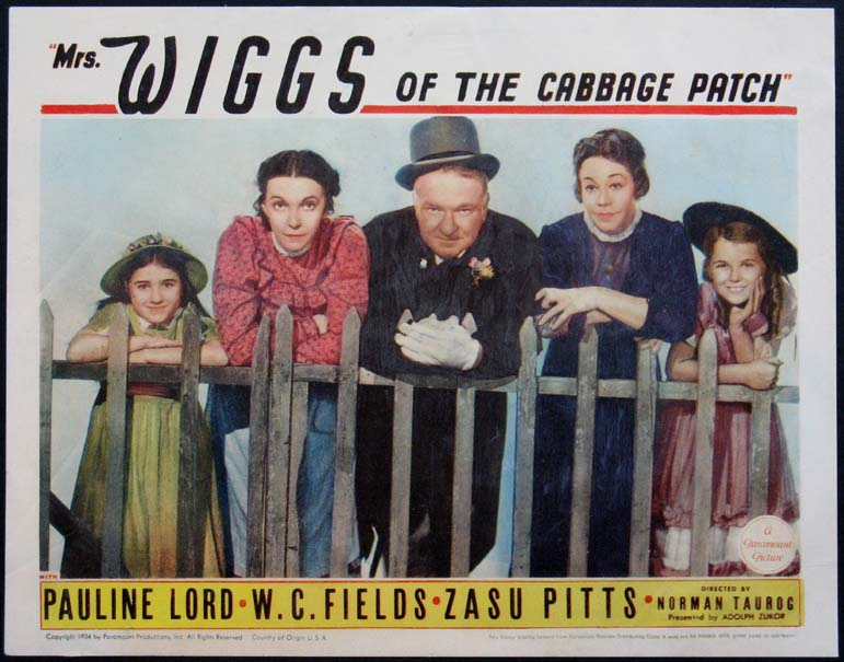 MRS. WIGGS OF THE CABBAGE PATCH @ FilmPosters.com