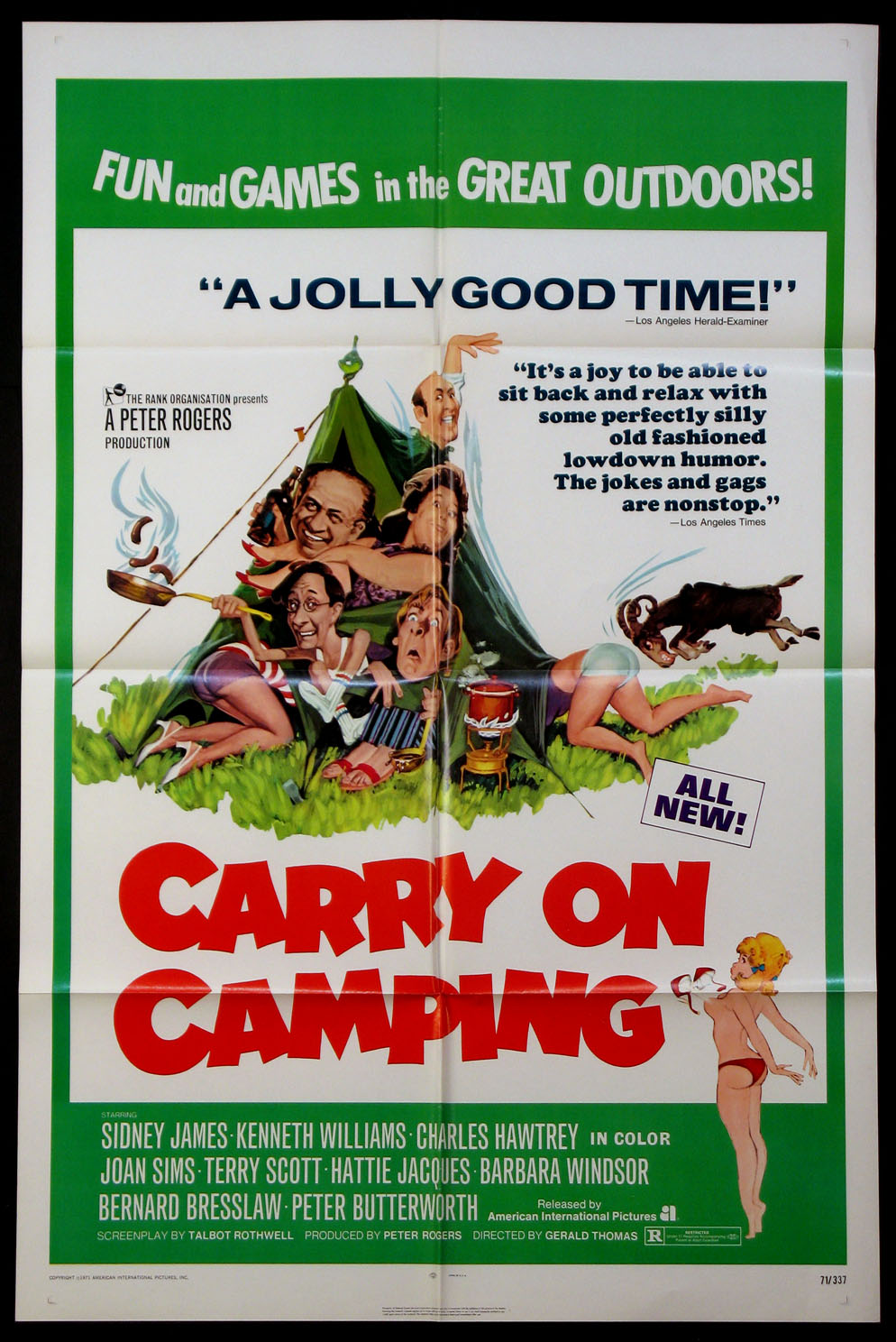 CARRY ON CAMPING @ FilmPosters.com