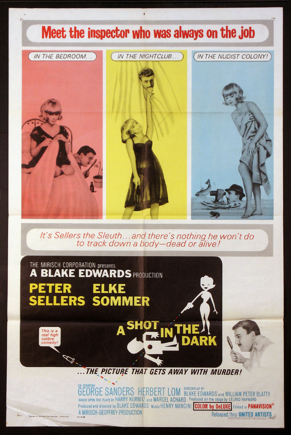SHOT IN THE DARK, A (Pink Panther series) @ FilmPosters.com
