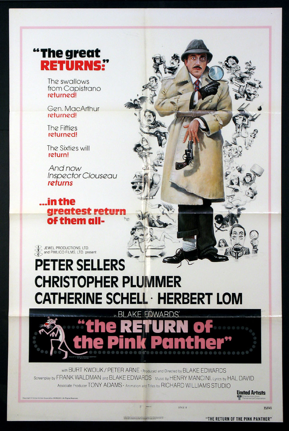RETURN OF THE PINK PANTHER, THE @ FilmPosters.com