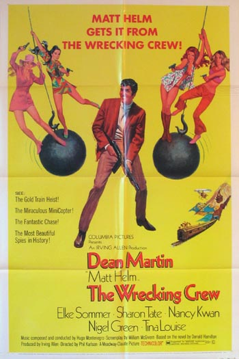 WRECKING CREW, THE (Matt Helm series) @ FilmPosters.com