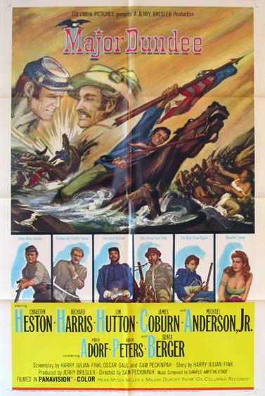 MAJOR DUNDEE @ FilmPosters.com
