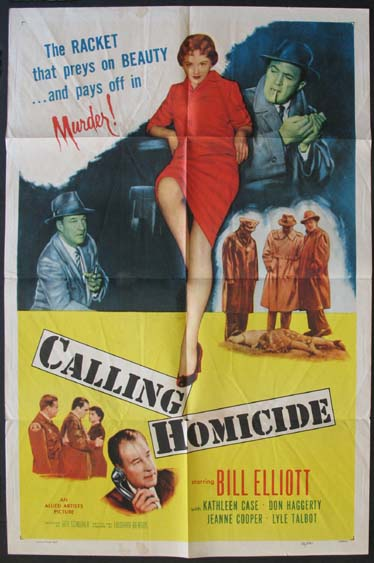 CALLING HOMICIDE @ FilmPosters.com