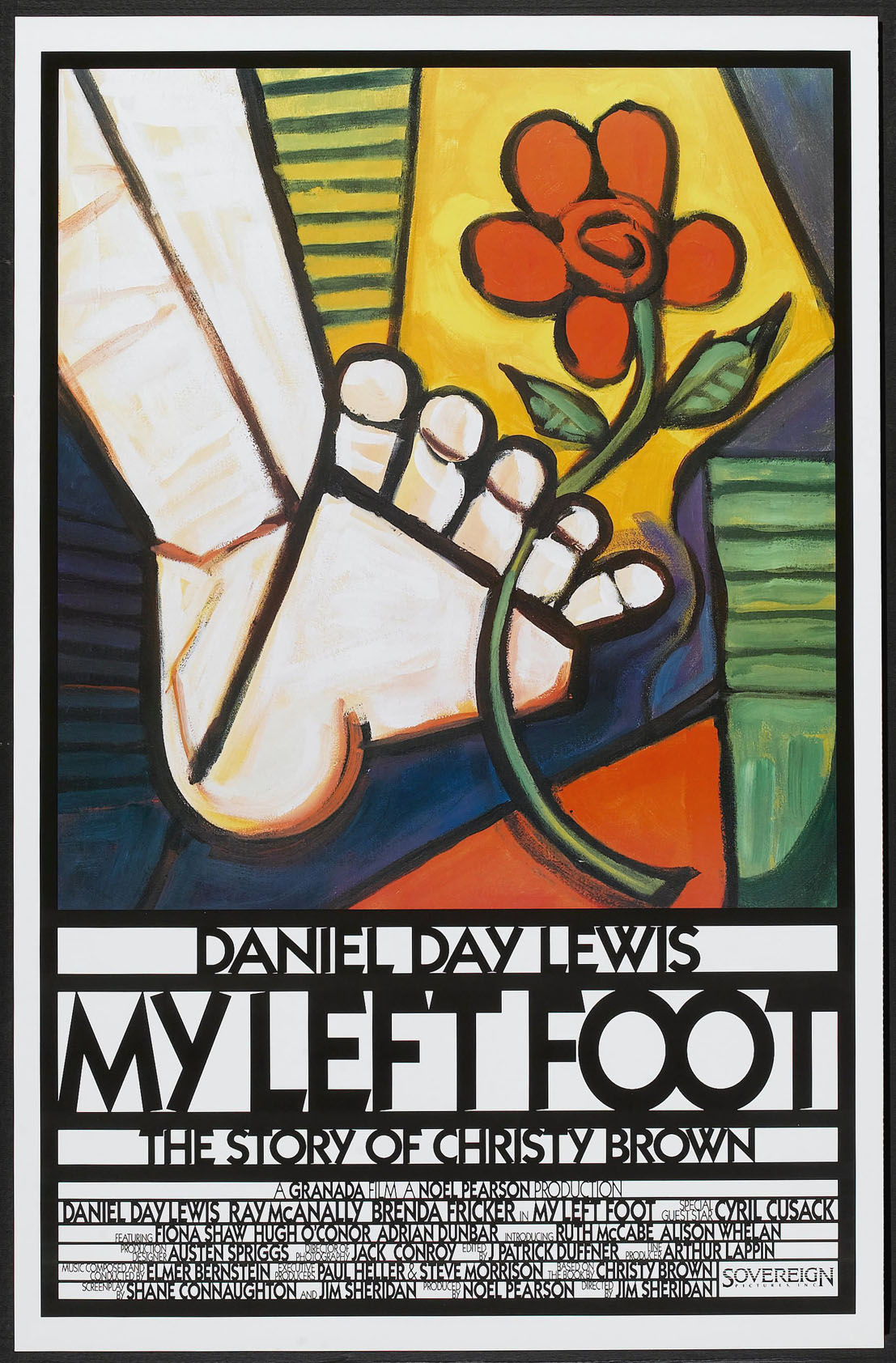 MY LEFT FOOT @ FilmPosters.com