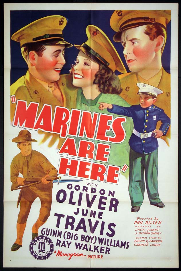 MARINES ARE HERE @ FilmPosters.com