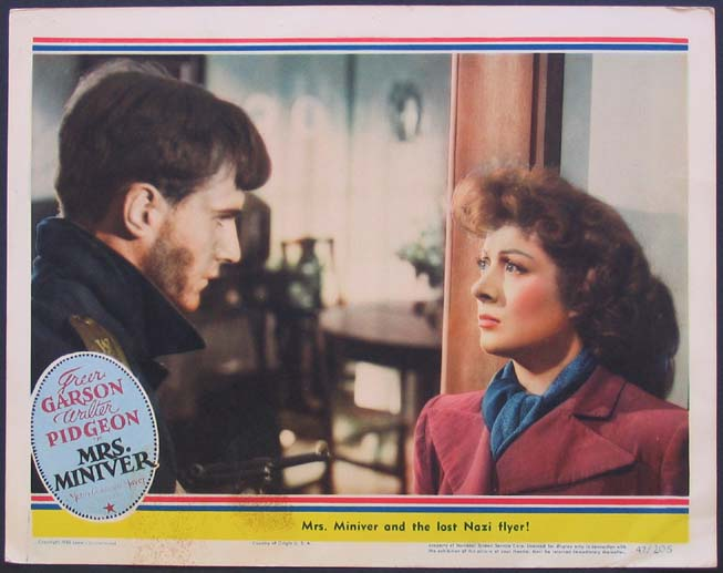 MRS. MINIVER @ FilmPosters.com