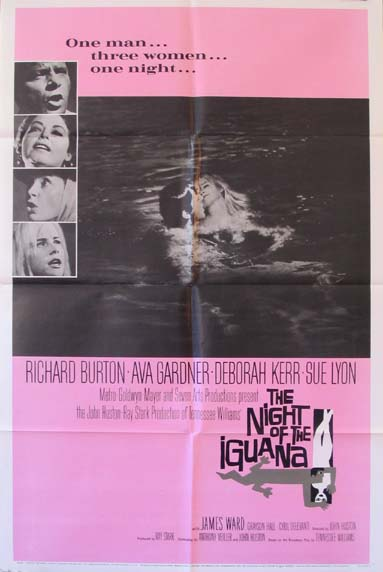 NIGHT OF THE IGUANA @ FilmPosters.com