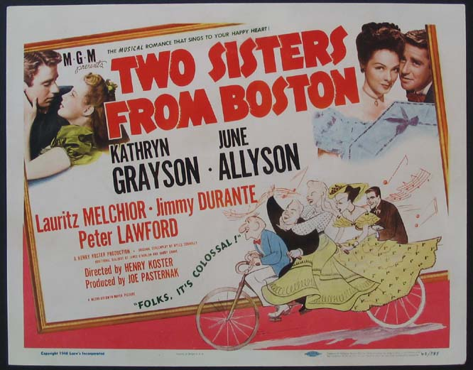 TWO SISTERS FROM BOSTON @ FilmPosters.com