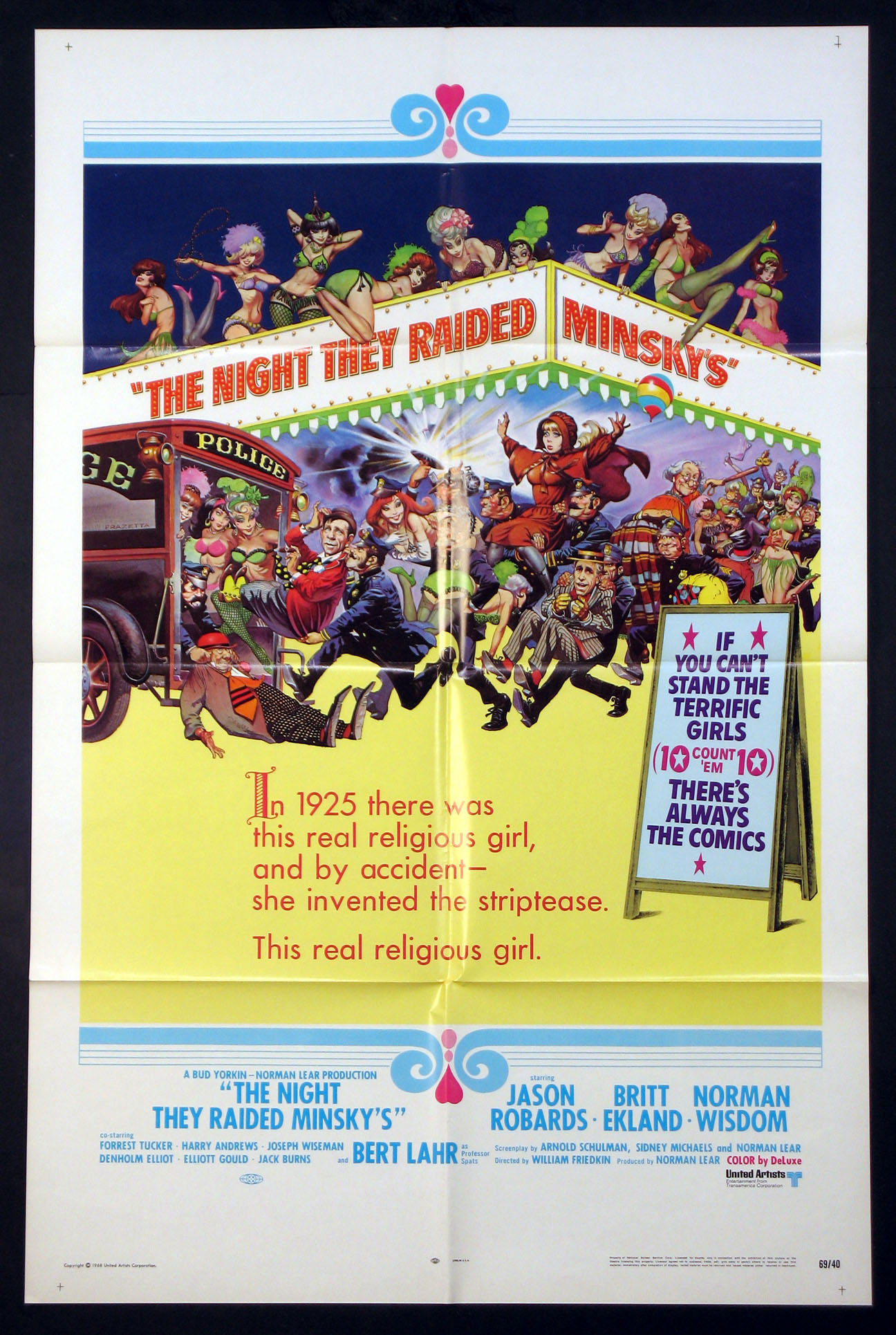 NIGHT THEY RAIDED MINSKY'S @ FilmPosters.com