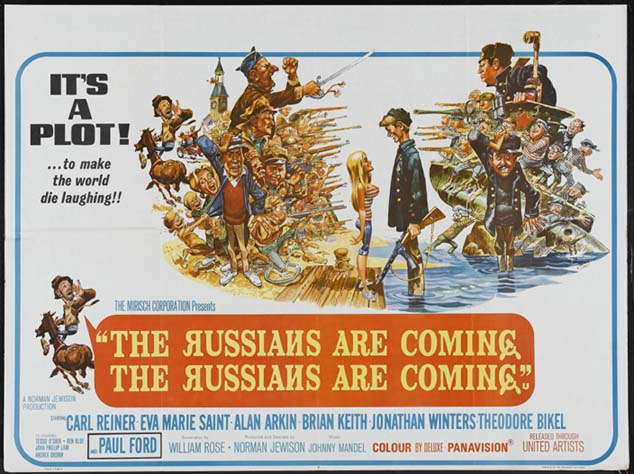 RUSSIANS ARE COMING, THE RUSSIANS ARE COMING, THE @ FilmPosters.com