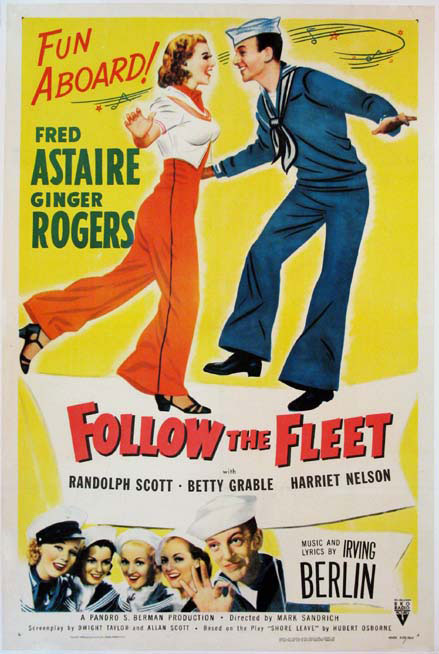 FOLLOW THE FLEET @ FilmPosters.com