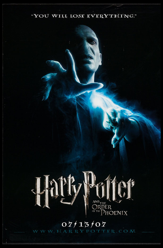 HARRY POTTER AND THE ORDER OF THE PHOENIX @ FilmPosters.com