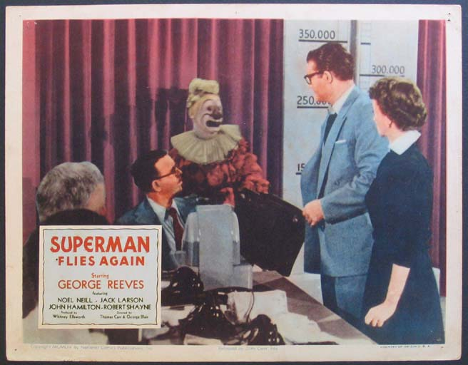 SUPERMAN FLIES AGAIN @ FilmPosters.com