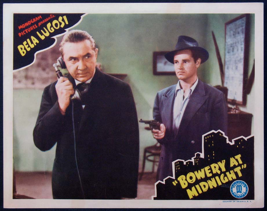 BOWERY AT MIDNIGHT @ FilmPosters.com