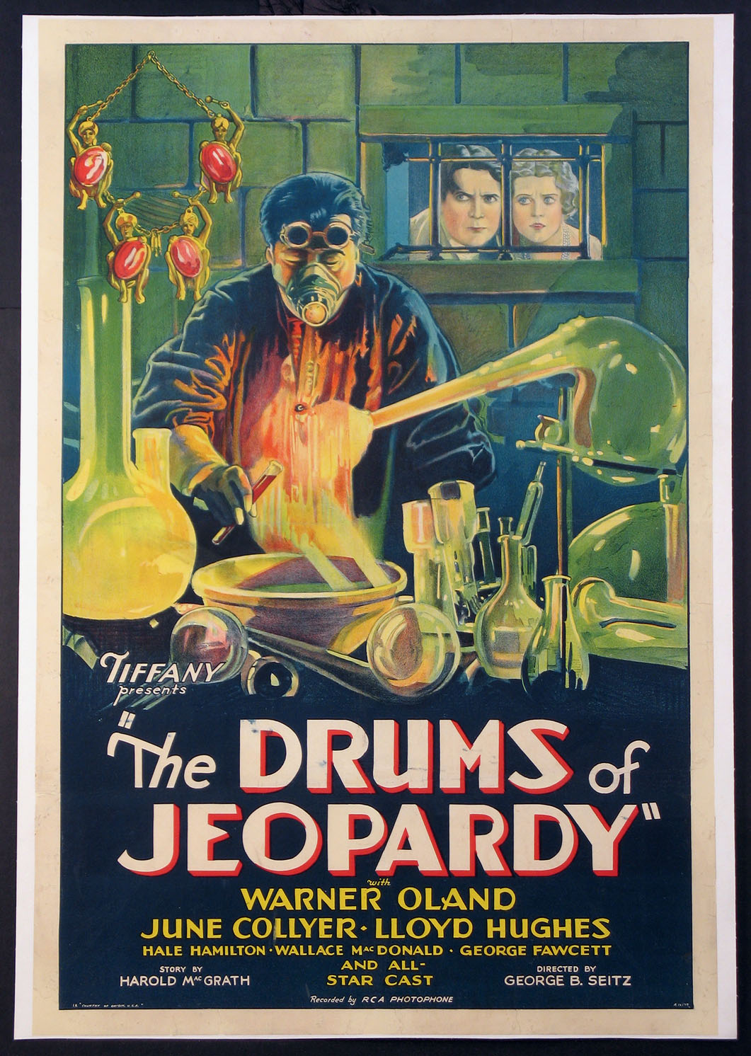 DRUMS OF JEOPARDY @ FilmPosters.com