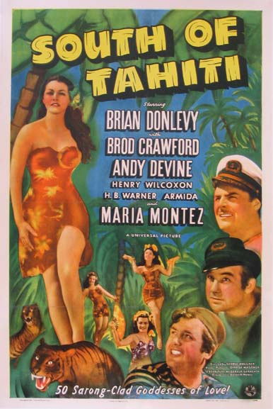 SOUTH OF TAHITI @ FilmPosters.com