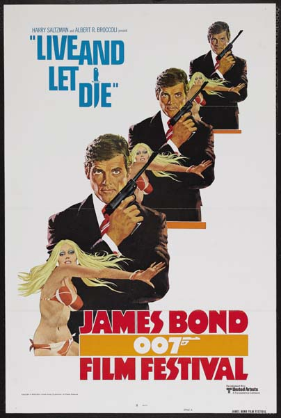 LIVE AND LET DIE JAMES BOND FILM FESTIVAL @ FilmPosters.com