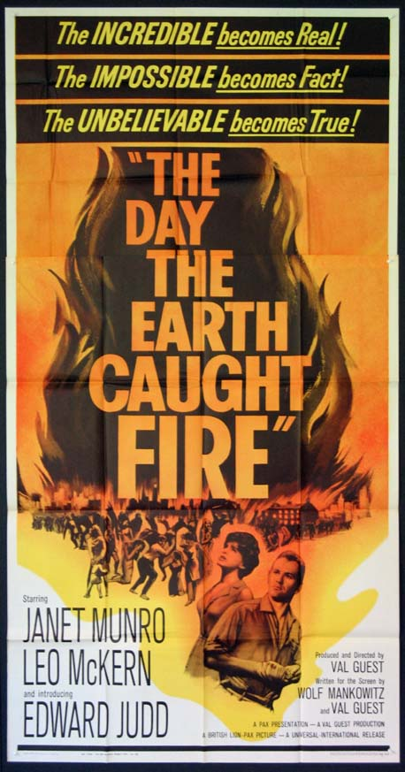 DAY THE EARTH CAUGHT FIRE, THE @ FilmPosters.com