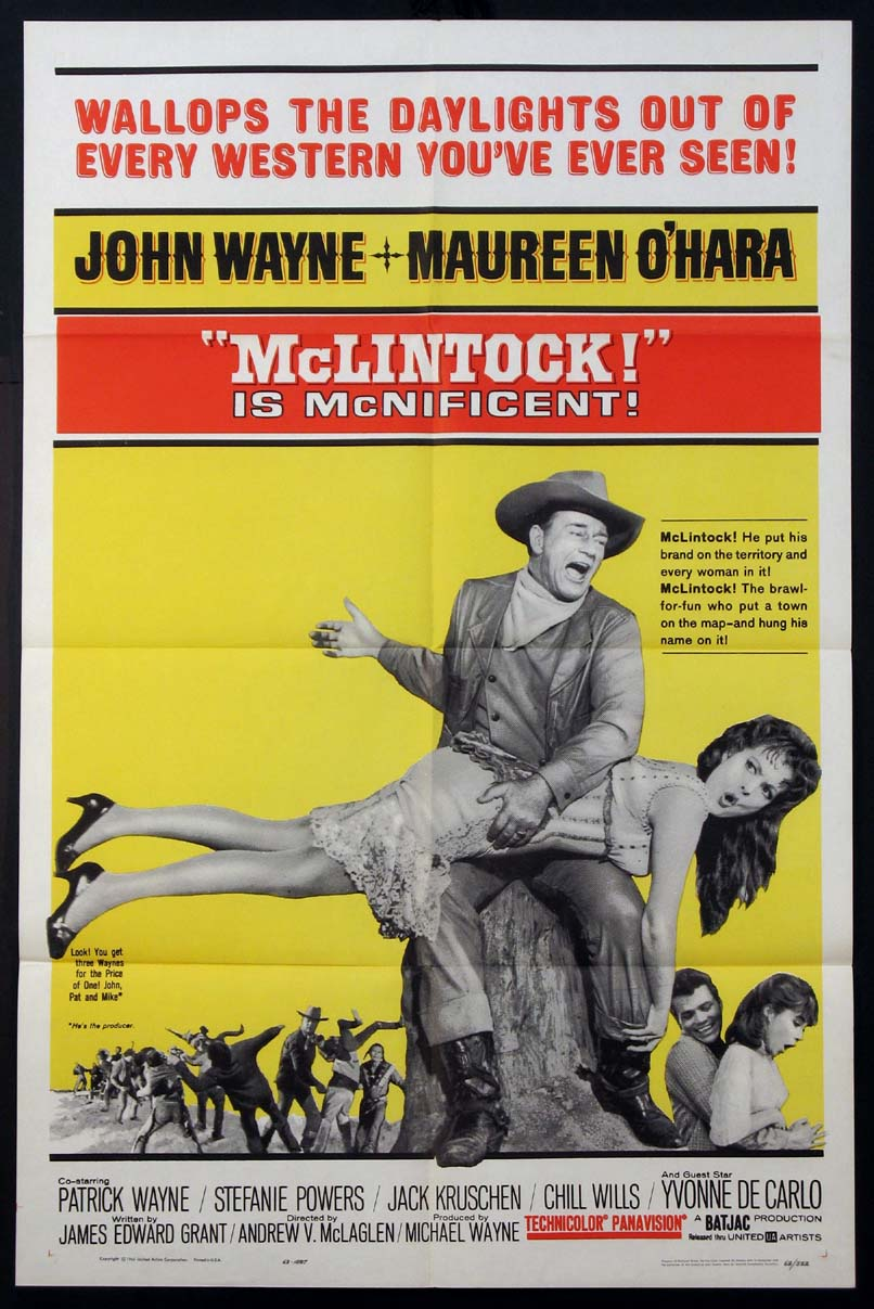 MCLINTOCK @ FilmPosters.com
