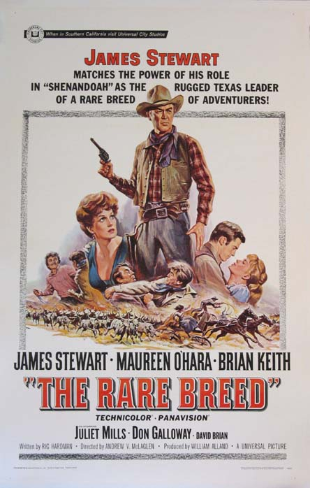 RARE BREED, THE @ FilmPosters.com