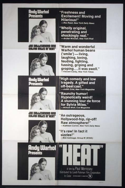 HEAT (Andy Warhol's Heat) @ FilmPosters.com