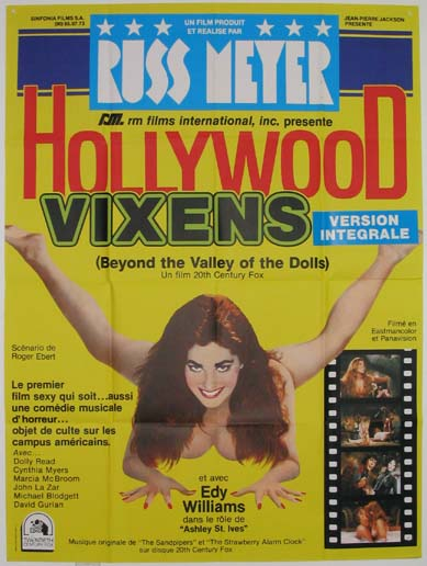 BEYOND THE VALLEY OF THE DOLLS (HOLLYWOOD VIXENS) @ FilmPosters.com