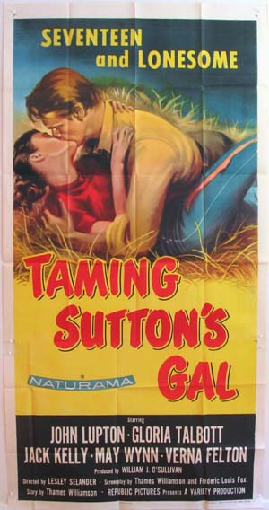 TAMING SUTTON'S GAL @ FilmPosters.com
