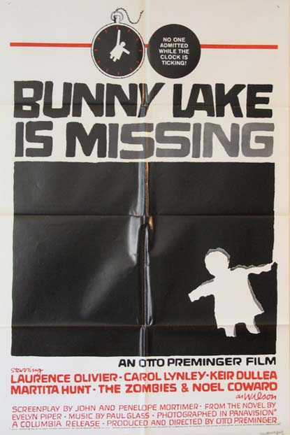 BUNNY LAKE IS MISSING @ FilmPosters.com