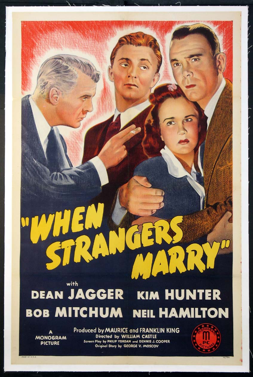 WHEN STRANGERS MARRY @ FilmPosters.com