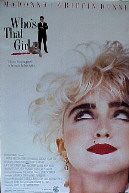 WHO'S THAT GIRL? @ FilmPosters.com
