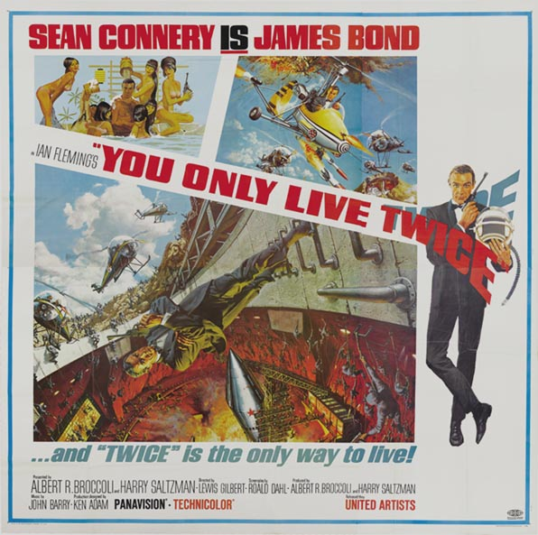 YOU ONLY LIVE TWICE @ FilmPosters.com