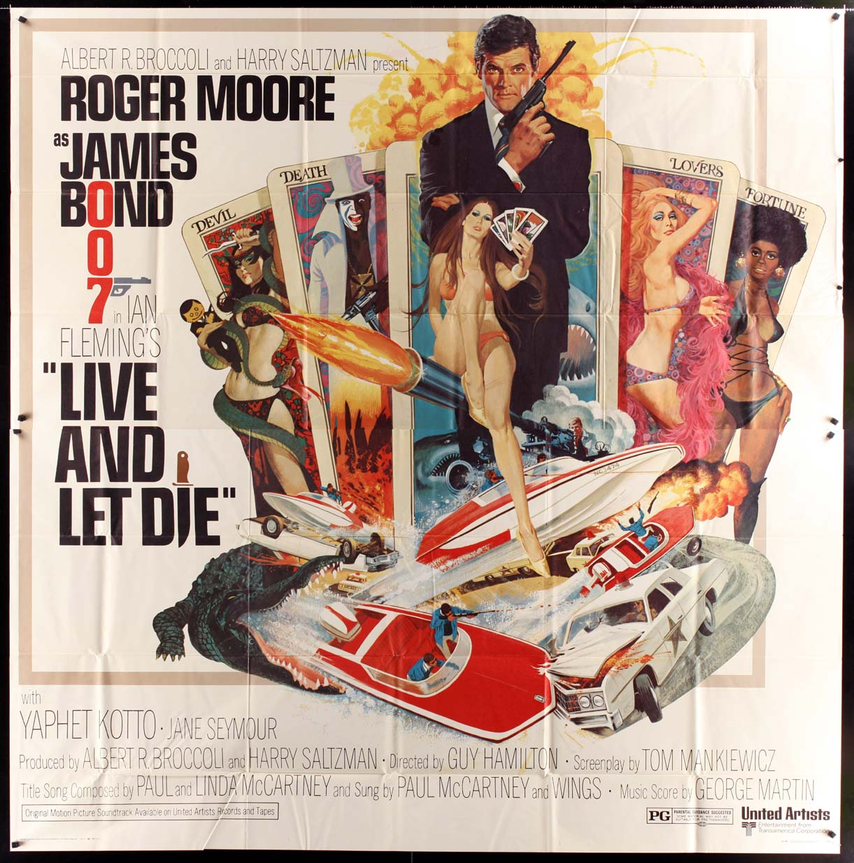 LIVE AND LET DIE @ FilmPosters.com