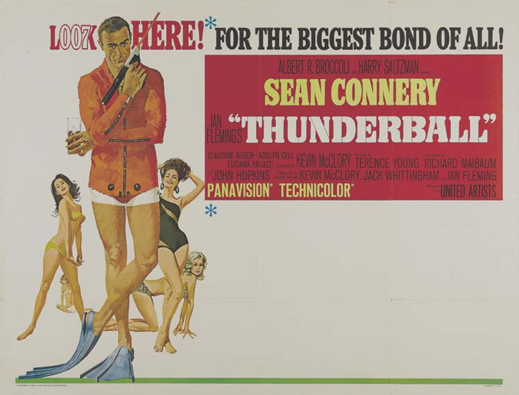 THUNDERBALL @ FilmPosters.com