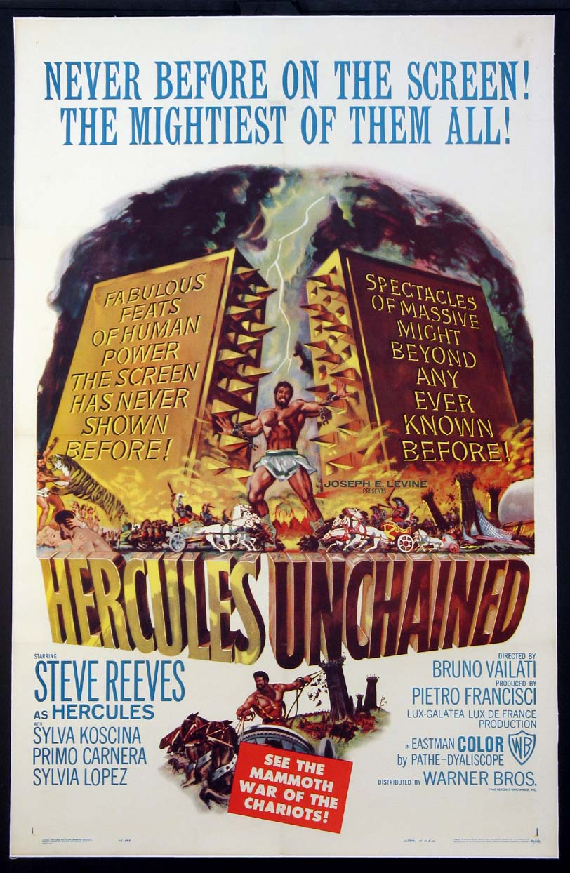 HERCULES UNCHAINED @ FilmPosters.com