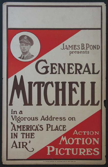 AMERICA'S PLACE IN THE AIR: GENERAL MITCHELL ADDRESS @ FilmPosters.com