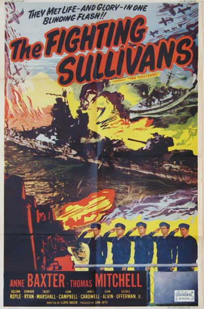 FIGHTING SULLIVANS, THE @ FilmPosters.com