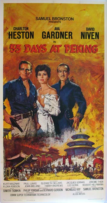 55 DAYS AT PEKING (Fifty Five Days at Peking) @ FilmPosters.com