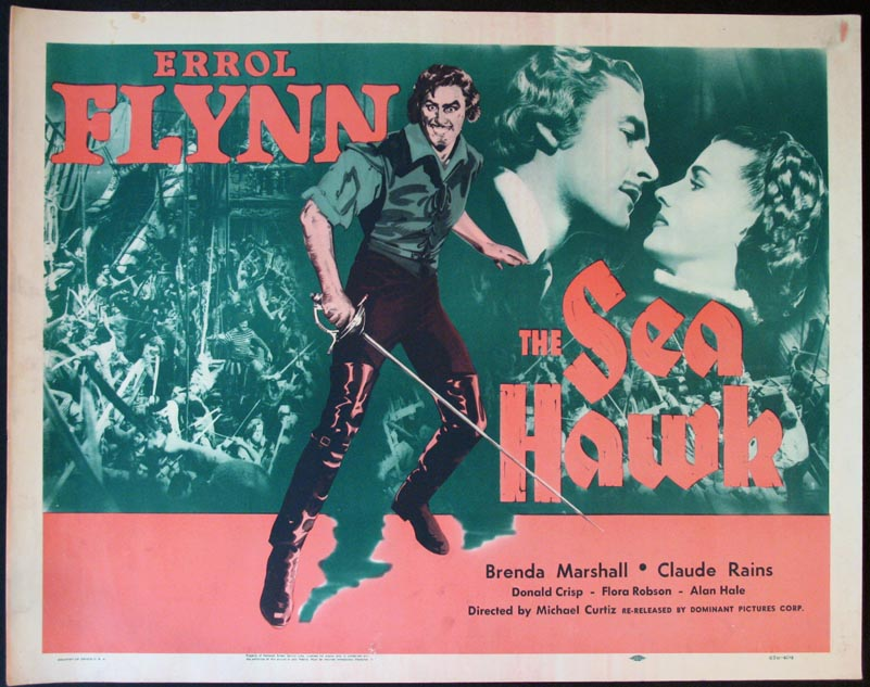 SEA HAWK, THE (The Sea Hawk) @ FilmPosters.com