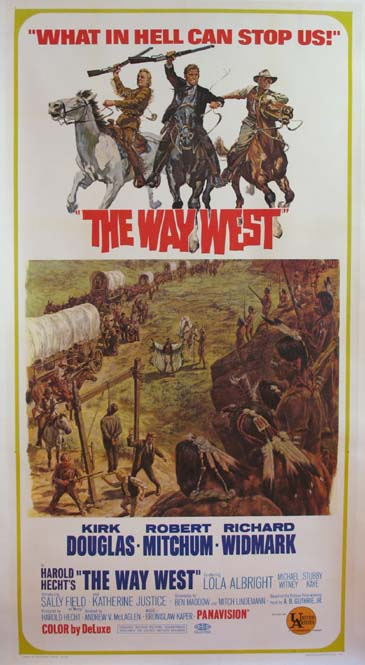 WAY WEST, THE (The Way West) @ FilmPosters.com